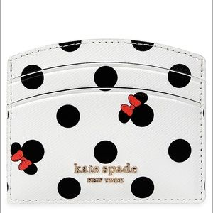 Disney Kate Spade Minnie Mouse Icon Card Holder